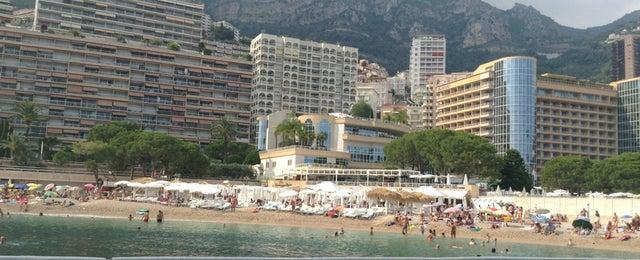 Photo taken at La Spiaggia Beach by Viktor P. on 7/26/2013