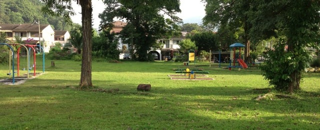 Photo taken at Playground Jalan A by Manj on 10/30/2012