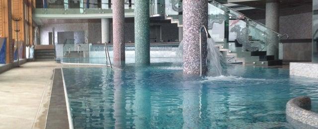 Photo taken at Sport Hotel Hermitage & Spa by Sara on 3/18/2013