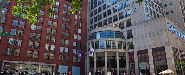 Photo taken at NYU Stern School of Business by NYU S. on 6/13/2014