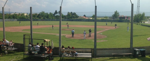 Photo taken at Ducks Field by Christoph L. on 6/8/2013