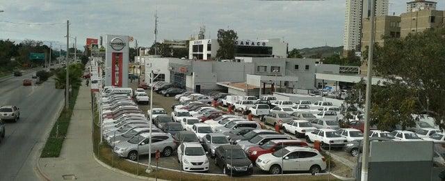 Photo taken at Nissan Tijuana by Magally K. on 1/24/2013