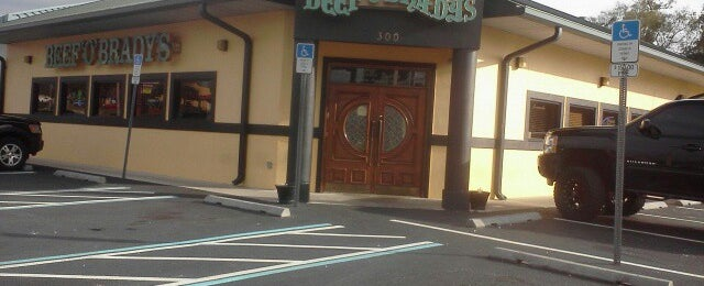 Photo taken at Beef O Bradys by Amy H. on 1/13/2013