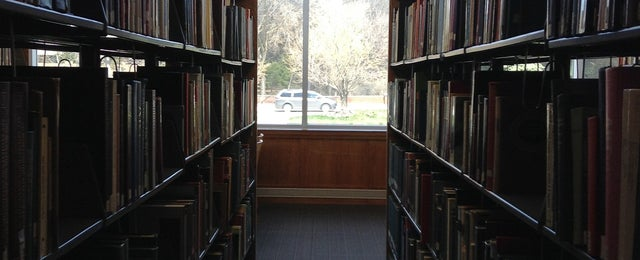 Photo taken at Dr. C.C. & Mabel L. Criss Library by Aaron K. on 4/19/2013