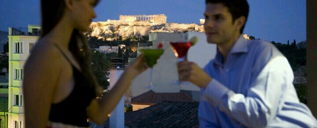 Photo taken at O&B Athens Boutique Hotel by oandb a. on 7/17/2012