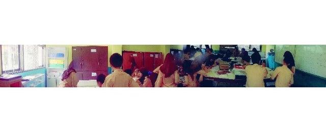 Photo taken at SMA Negeri 2 Cibinong by Arinto Bagas S. on 11/7/2013
