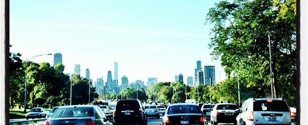 Photo taken at Lake Shore Drive by Mick Y. on 9/19/2012