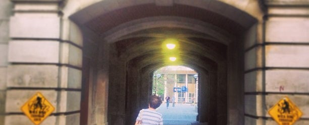 Photo taken at Dennison Archway by Antoine C. on 5/21/2013