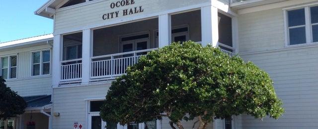 Photo taken at Ocoee City Hall by Jarrod A. on 2/10/2014