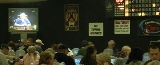 Photo taken at Cave Run Bingo Hall by Bill R. on 11/4/2012