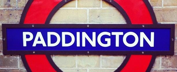 Photo taken at London Paddington Railway Station (PAD) by Nadège D. on 2/8/2013