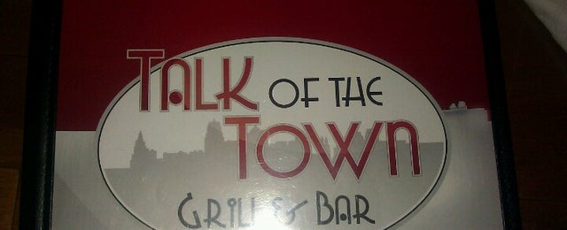 Photo taken at Talk Of The Town Grill & Bar by Ariel Akiva on 6/22/2012