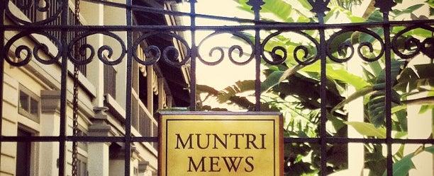 Photo taken at Muntri Mews by Sam Poullain on 6/7/2013