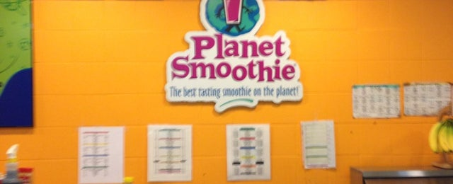 Photo taken at Planet Smoothie by Casey L. on 1/24/2013