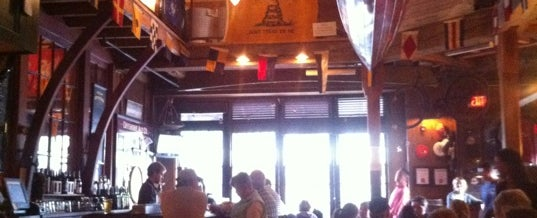 Photo taken at Offshore Ale Company by Luke R. on 6/3/2012