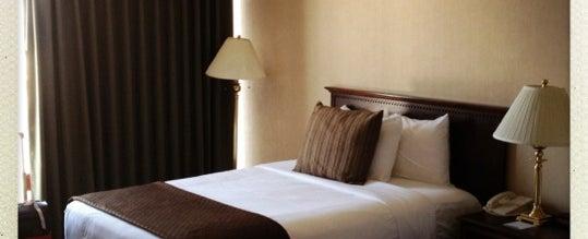 Photo taken at Red Lion Hotel Salt Lake Downtown by Jason W. on 7/7/2012