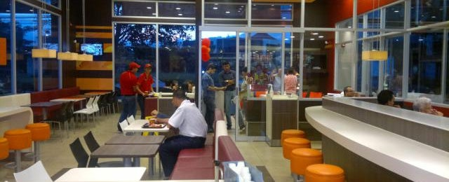 Photo taken at McDonald's by Edgar S. on 1/4/2012