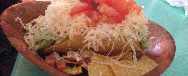 Photo taken at The Taco Shop by Diego S. on 4/6/2012