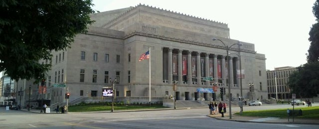 Photo taken at Peabody Opera House by Kevin B. on 5/9/2012