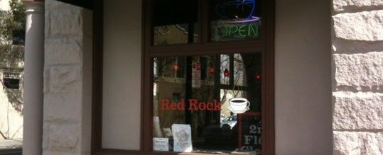 Photo taken at Red Rock Coffee by James H. on 3/21/2012