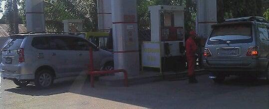 Photo taken at SPBU Lunuk Ramba Permai - Kasongan by randy k. on 8/18/2012