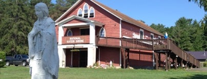 Shrine of Blessed Kateri Tekakwitha is one of Sacred Sites in Upstate NY.