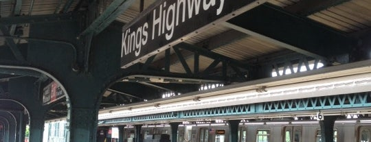 MTA Subway - Kings Highway (F) is one of MTA Subway - F Line.