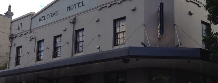 Welcome Hotel is one of Sydney Pubs.