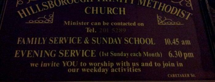Hillsborough Trinity Methodist Church is one of Fairly Often!.