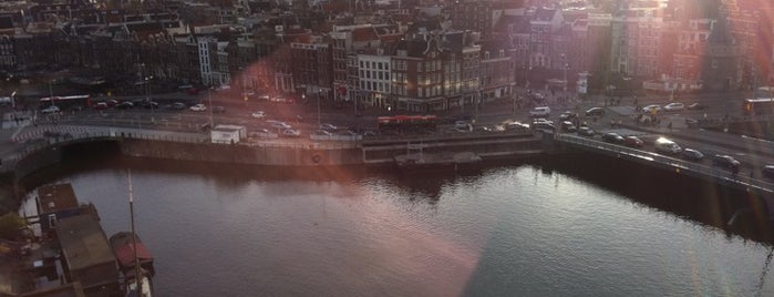 SkyLounge Amsterdam is one of Favourite Rooftop Bars of the World.