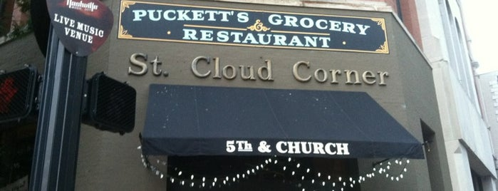 Puckett's Grocery & Restaurant is one of To Do Nashville TN.