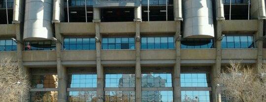 Santiago Bernabéu Stadium is one of Sports Arena's.