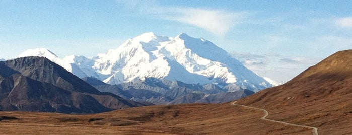 Denali National Park & Preserve is one of U.S. National Parks.