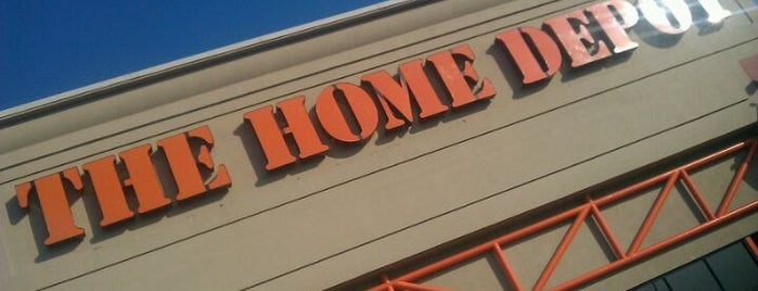 The Home Depot is one of Places to Shop.