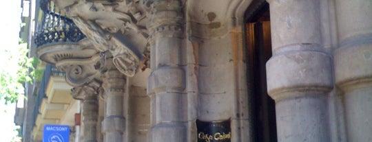 Casa Calvet is one of Follow Gaudí around Barcelona.