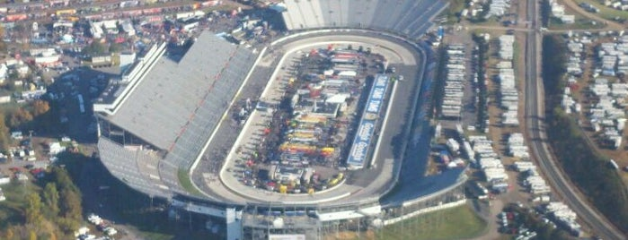 Martinsville Speedway is one of My NASCAR Cup Series Trip List.