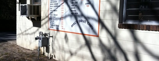 Mac's Drive Thru is one of Places to visit before I leave Gainesville.
