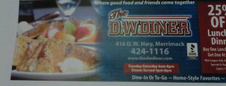 DW Diner is one of Places from the reporting trail.