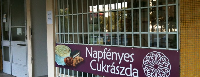 Napfényes Cukrászat is one of A vegetarian in Budapest.