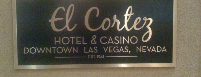 El Cortez Hotel & Casino is one of Vegas Death March.