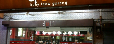 Doli Kuey Teow Goreng is one of Top 10 restaurants when money is no object.