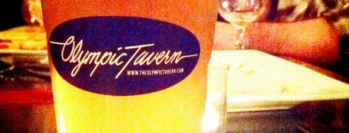 The Olympic Tavern is one of Because Beer..