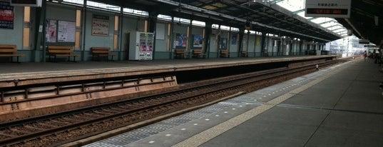Shimbamba Station (KK03) is one of 京急本線(Keikyū Main Line).