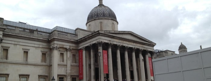 National Gallery is one of London's West End.