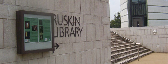 Ruskin Library is one of Culture on Campus.