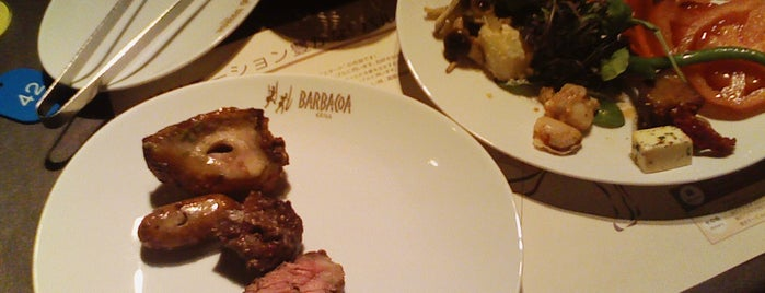 BARBACOA GRILL 青山店 is one of 食べ放題.