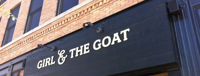 Girl & the Goat is one of Top Chef Competitors' Restaurants.