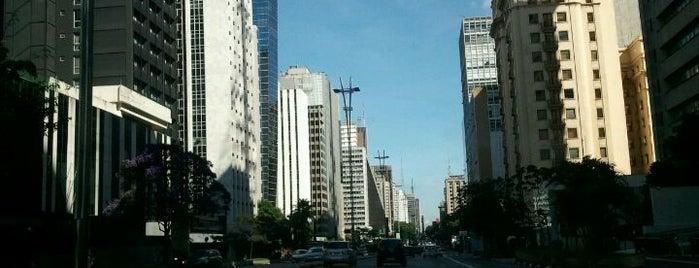 Paulista Avenue is one of Principais Avenidas de São Paulo.