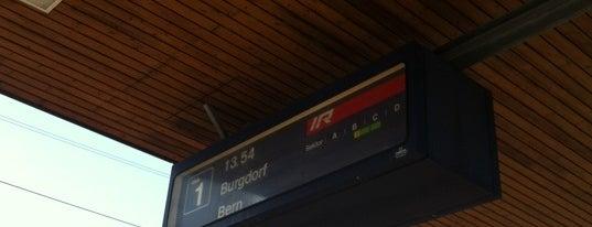 Bahnhof Herzogenbuchsee is one of Bahnhöfe Top 200 Schweiz.