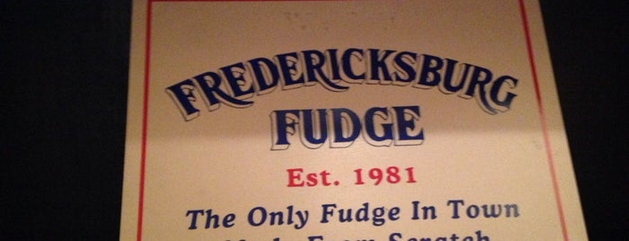 Fredericksburg Fudge is one of Places I want to try out II (eateries).